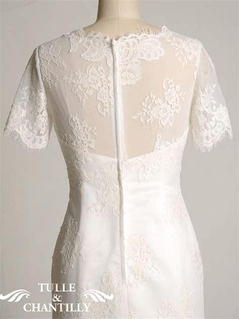 handmade lace wedding dress tulle chantilly wedding blog