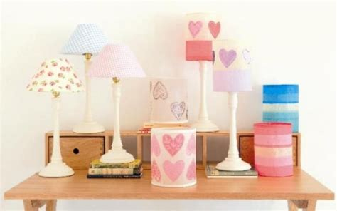 Pink gingham lamp shade car essay let there be light interiors kent life aloadofball Images
