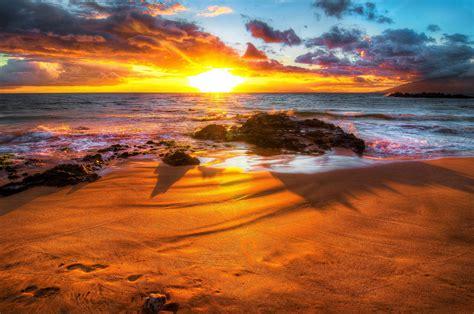 HD Sunset Beaches Backgrounds   PixelsTalk.Net