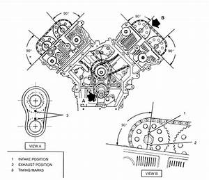 Need Timing Chain Diagram For 2001 Cadillac 4 6 North Star