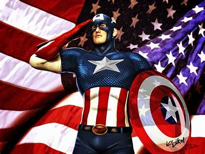 Captain America Wallpapers American Iron African Evans