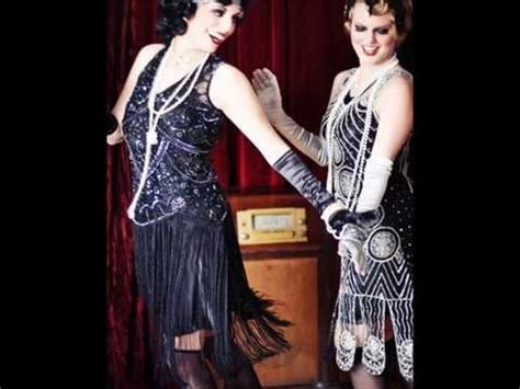 glamorous  style beaded flapper dresses youtube