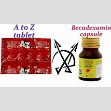 'becadexamin' Vs 'a To Z' Multivitamin Short Review In Hindi ¦¦ Which Should I Consume? Youtube