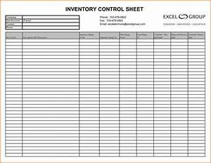 inventory list template pdf and free printable blank With blank checklist template pdf