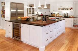 distressed black kitchen island 20 ideas for installing a wooden countertop at your home