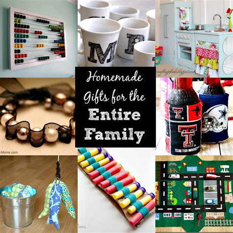 diy family christmas gifts diy christmas gift ideas for the entire family over 30 ideas for all ages simplify live love