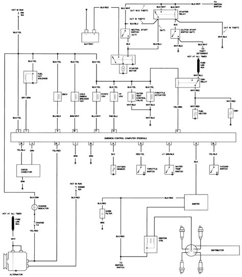 1994 Toyotum Engine Wiring Diagram by Repair Guides