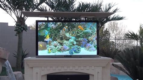 Mirage Vision Outdoor Weather Proof Tv Entertainment