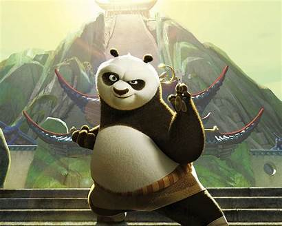 Panda Animation Dreamworks Kungfu Animated Cartoon Anime