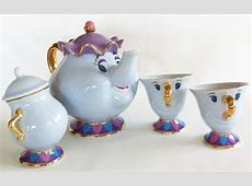 Beauty and The Beast Teapot Cup Mrs Potts Chip Sugarpot