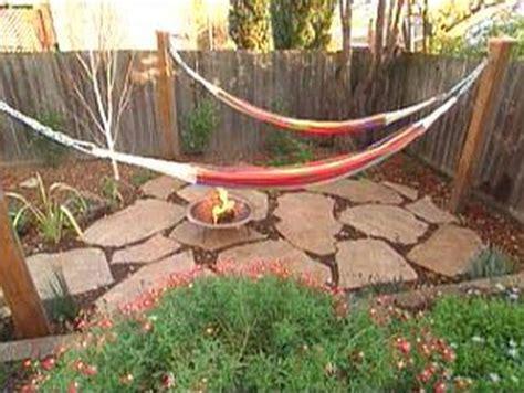 backyard hammock ideas  pinterest backyards