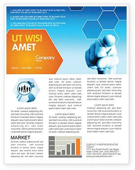 business newsletter templates technology science computers newsletter templates in microsoft word adobe illustrator and