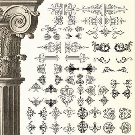 Ornamental Parts of Buildings 5 ? CAD Design   Free CAD