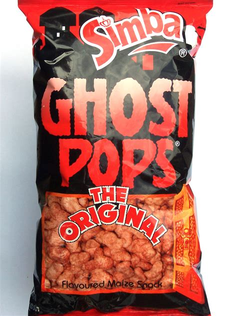 Simba Ghost Pops   South African Goodies