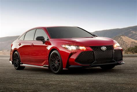 toyota avalon trd awd release specs date credit