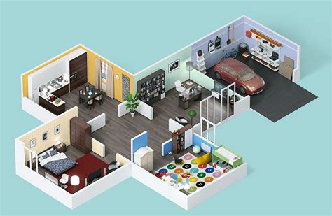 25 Two Bedroom Houseapartment Floor Plans by 25 Two Bedroom House Apartment Floor Plans Large Houses