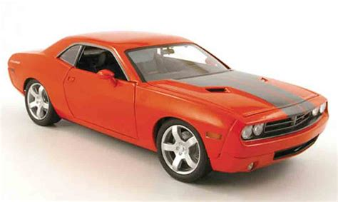 2005 Dodge Challenger by Dodge Challenger Concept Orange 2005 Highway 61 Modellauto