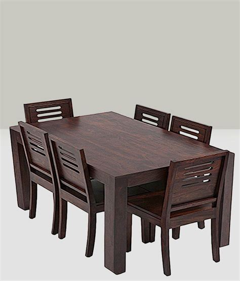 dining table set 6 seater anant dining set 6 seater with table buy anant dining