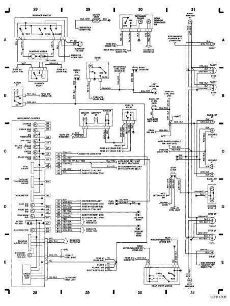 1991 Honda Accord Brake Light Wiring Diagram by Wiring Diagrams Honda Tech
