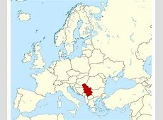 Maps of Serbia Detailed map of Serbia in English