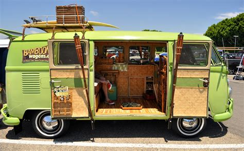 volkswagen van inside just a car guy some of the nicest vw bus interiors from
