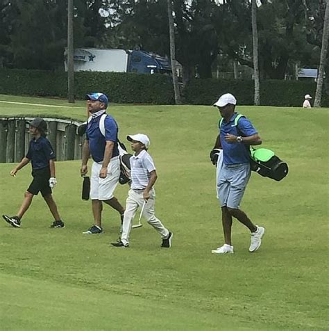 Tiger Woods' son Charlie steals the show at junior ...