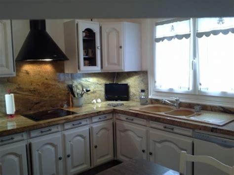 cuisines rustiques bois repeindre des meubles de cuisine rustique decoration
