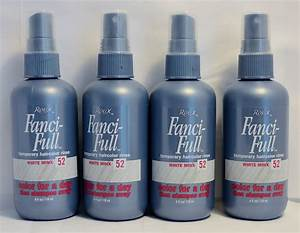 Roux Fanci-Full Temporary Hair color Rinse White Minx 52 - 4oz