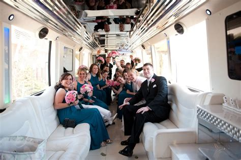 party bus rentals mv limousines   york limo company