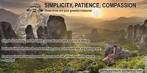 Lao Tzu Quotes ... Simplicity Patience Compassion Quotes