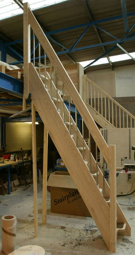 pin  mountain laurel handrails  stairs loft