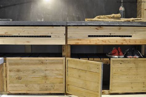building cabinets out of pallets diy how to build a sweet set of cabinets from disused