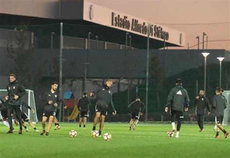River Plate realiza su primer entrenamiento en Madrid
