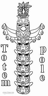 Totem Cool2bkids sketch template
