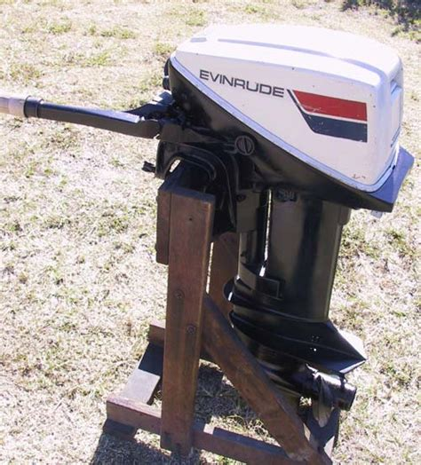 Boat Motors On Sale by Used 15 Hp Omc Johnson Evinrude Boat Engine For Sale