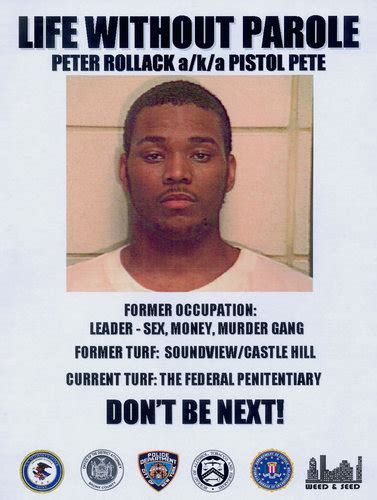Concerns Keep The Gang Leader Peter Rollock Isolated In