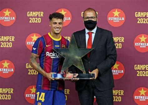 Barcelona's Philippe Coutinho delighted being part of Joan ...