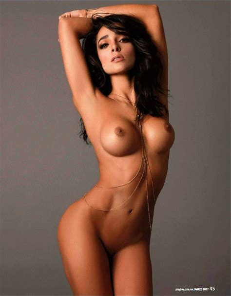 Nackte Manelik Gonzlez In Playboy Magazine