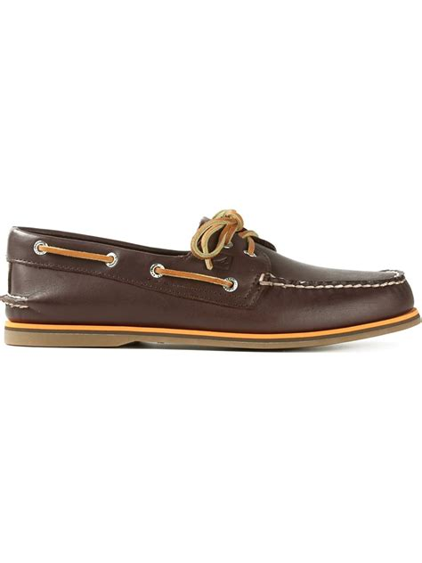 Brown Deck Shoes by Sperry Top Sider Classic Deck Shoes In Brown For Men Lyst