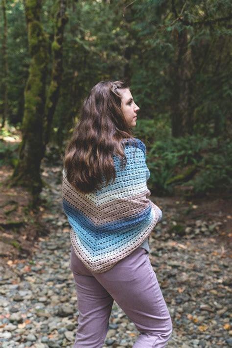 crochet beginner fade shawl  crochet pattern sewrella