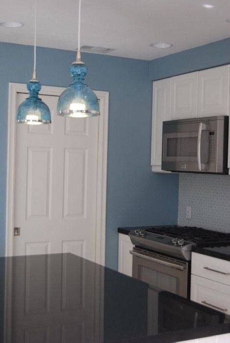 blue kitchen pendant lights 15 ideas of blue pendant lights for kitchen 4830