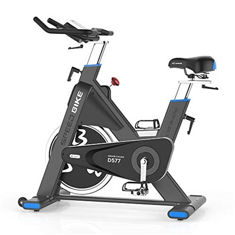 pooboo Pro Belt Drive Exercise Bike Stationary, Indoor ...