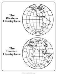 image result  hemisphere worksheets  grade
