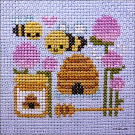 level  homemaker cross stitch update