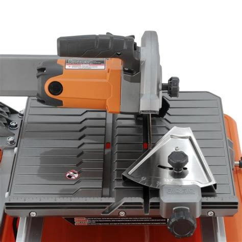 ridgid tile saw 7 ridgid 7 in tile saw with stand r4030s vip outlet