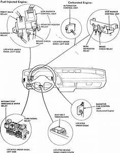 Honda Main Relay Wiring Diagram