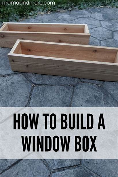 Window Build Container Mamaandmore Boxes Planter Gardening