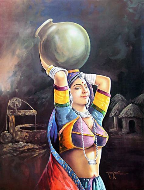 life   beautiful indian paintings collection