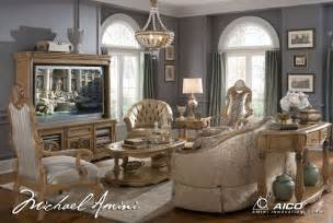 buy grand aristocrat living room set by aico from www mmfurniture