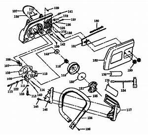 358 356281 Craftsman 18 Inch Bar Gasoline Chainsaw